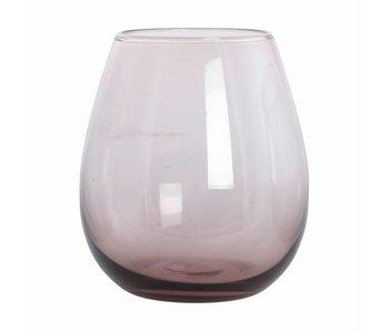 House Doctor Ball Wasserglas lila