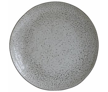 House Doctor Rustic plate gray