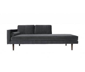 Broste Copenhagen Chaise Lounge bank grijs