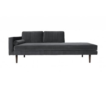 Broste Copenhagen Chaise Lounge gray