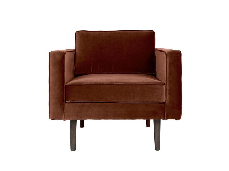 Broste Copenhagen Wind fauteuil caramel bruin W88XL84XH74CM