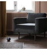 Broste Copenhagen Wind fauteuil grijs W88XL84XH74CM
