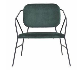 House Doctor Klever chair metal green