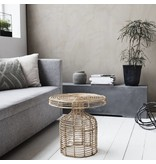 House Doctor Natur rattan sofabord 46x46x46cm