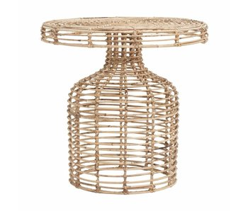 House Doctor Nature coffee table rattan