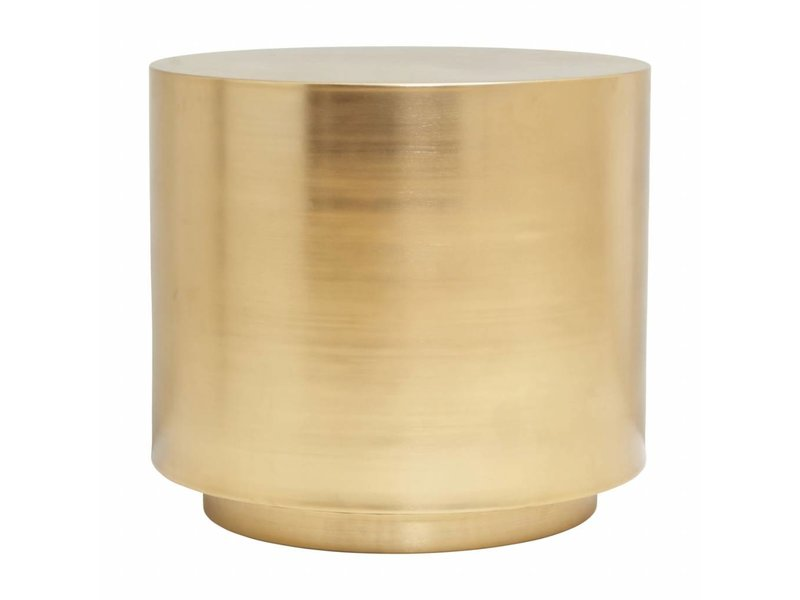 House doctor step table brass 50x50x45 7cm