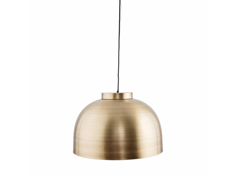 House doctor bowl hanging lamp living and co house doctor bowl pendant light brass 50x335cm aloadofball Image collections