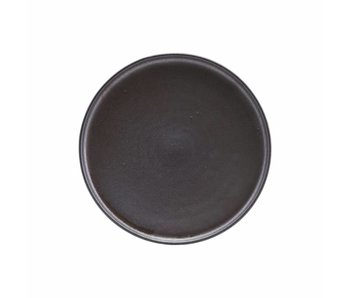 House Doctor Aton breakfast plate dark gray Ø21cm
