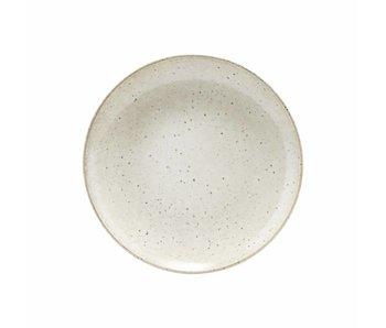 House Doctor Lake dinner plate gray Ø27cm