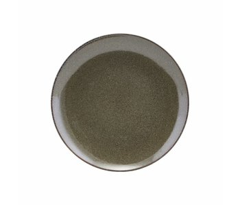 House Doctor Lake frokost tallerken grøn Ø21,4cm