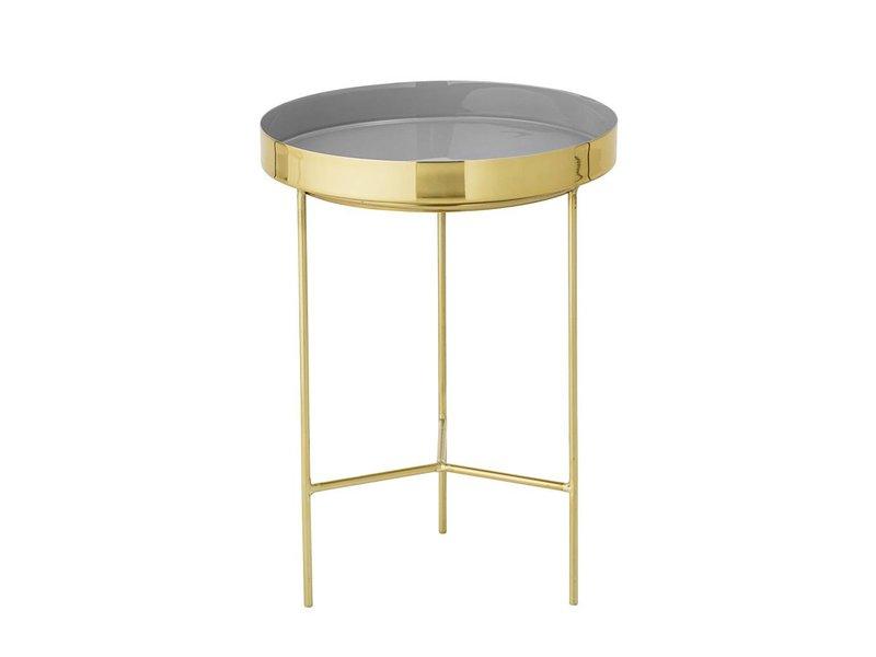 Bloomingville Tray tafel grijs Ø30x40cm