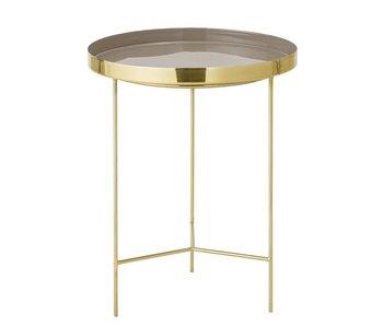 Bloomingville Tray tafel bruin Ø40x50cm