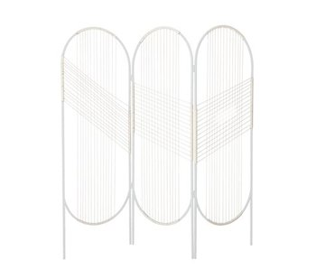 Bloomingville Screen room divider white 165x165cm
