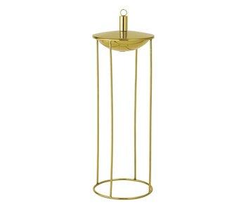 Bloomingville Lampe à huile d'or Ø19x57cm