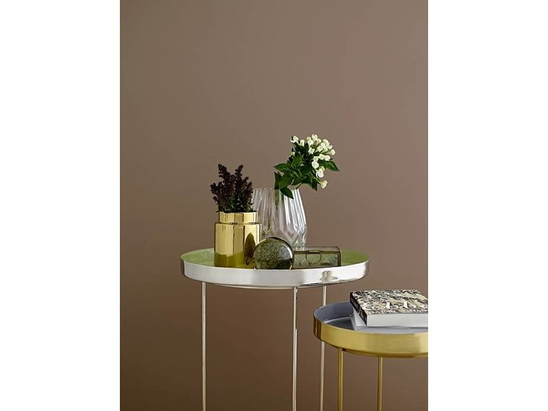 Bloomingville Bakkebord grå Ø30x40cm