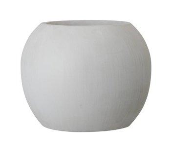 Bloomingville Flowerpot grå Ø25x20cm