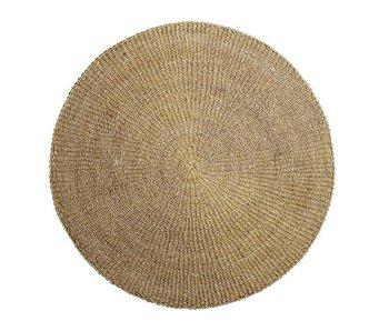 Bloomingville Rug natural seagrass Ø200cm