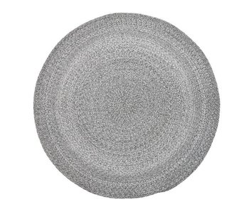 Bloomingville Carpet round gray Ø120cm