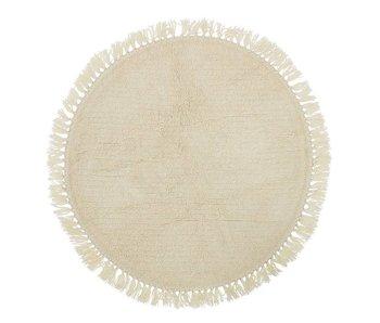 Bloomingville Rug round wool Ø110cm