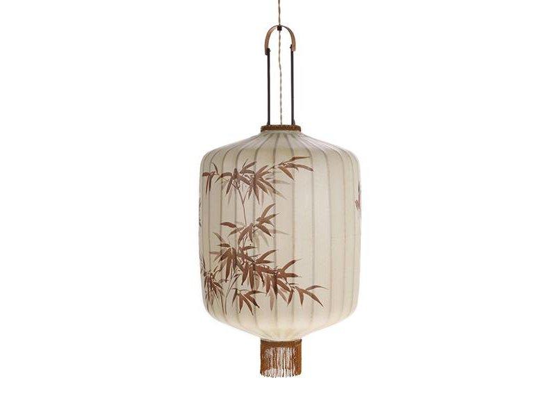 HK-Living Lanterne lampe XL Creme 45x45x92cm