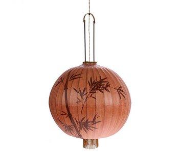HK-Living Laterne Lampe XL Terrakotta 60x60x92cm