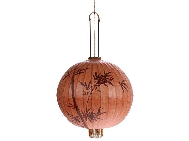 HK-Living Lanterne lampe XL terracotta 60x60x92cm