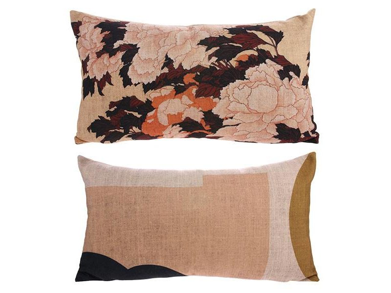 Hk living cushion tokyo print living and co