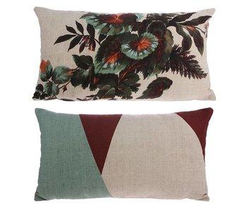 HK-Living Cushion Kyoto print 35x60cm
