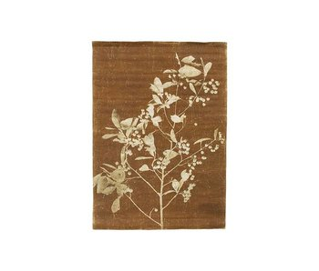 HK-Living Blueberry Twig wall card 100x70,5x1cm