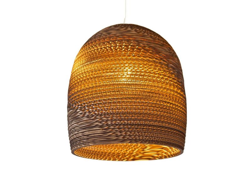 Grey Pants Lampen : Graypants bell hanging lamp brown living and co