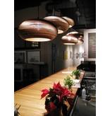 Graypants Disc24 hanglamp bruin karton Ø61x26cm