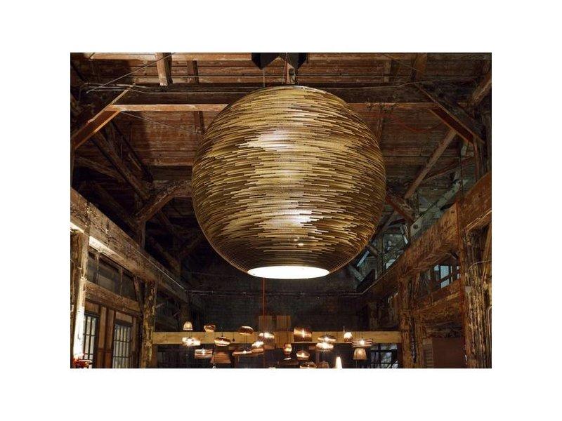 Graypants Arcturus hanglamp bruin karton Ø163x163cm