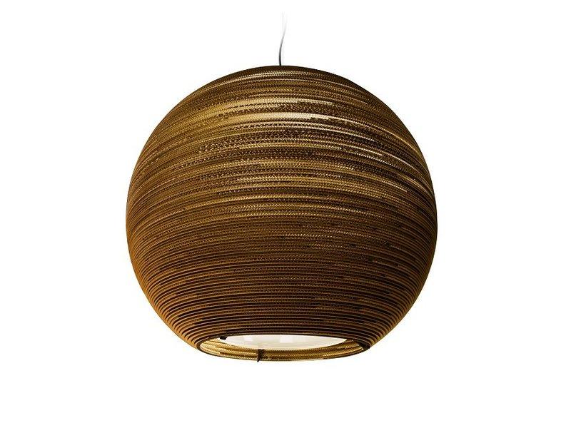 Graypants Sun48 vedhæng lys brun pap Ø128x108cm