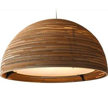 Graypants Dome36 hanglamp bruin karton Ø92x50cm