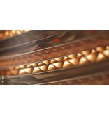 Graypants Drop18 hanglamp bruin karton Ø25x45cm