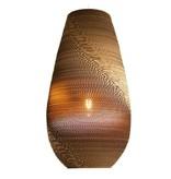 Graypants Drop26 hanglamp bruin karton Ø36x65cm