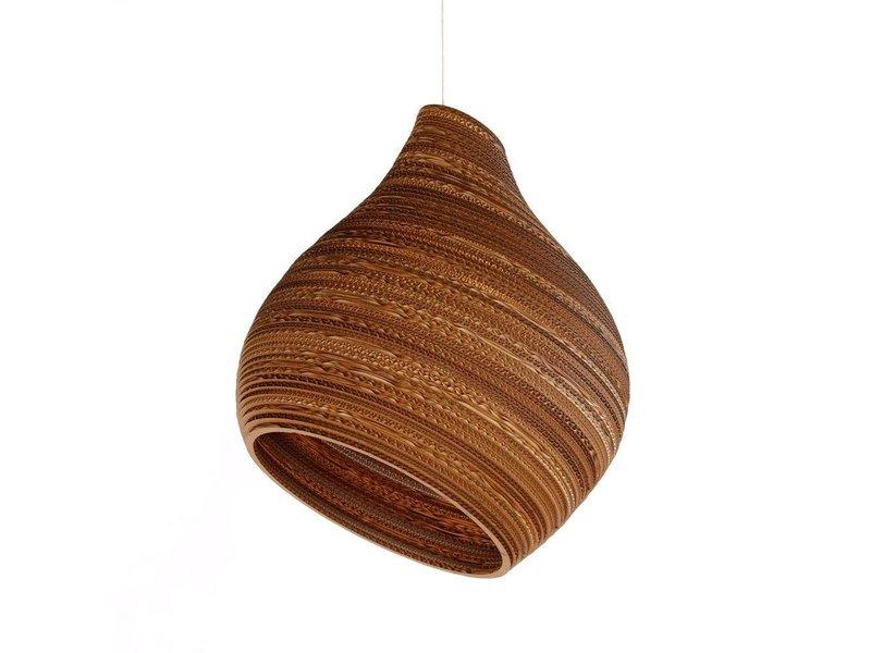 Graypants Hive12 vedhæng lys brun pap Ø30x36cm