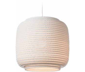 Graypants Ausi14 hanglamp wit karton Ø39x36cm