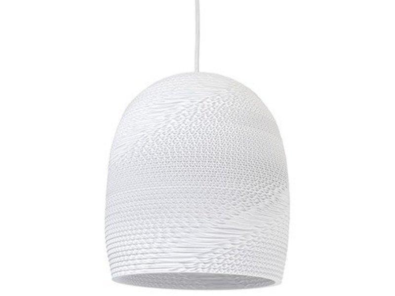 Graypants Bell10 hanglamp wit karton Ø27x28cm