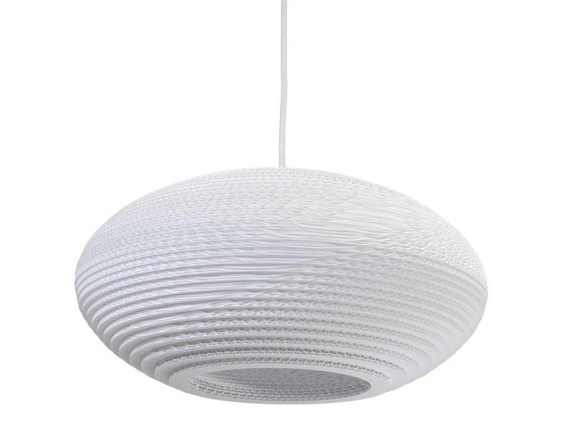 Graypants Disc16 hanglamp wit karton Ø43x19cm