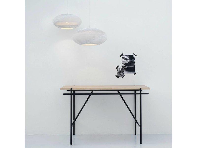 Graypants Disc20 lampe hvidt pap Ø50x23cm
