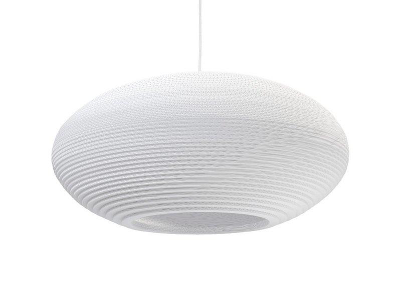 Graypants Disc24 lampe hvidt pap Ø61x26cm