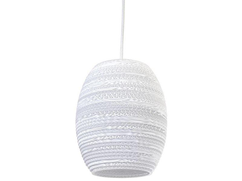 Graypants Oliv lampe hvidt pap Ø19x22cm