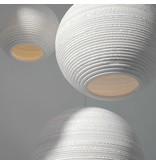 Graypants Moon10 lampe hvidt pap Ø26x22cm