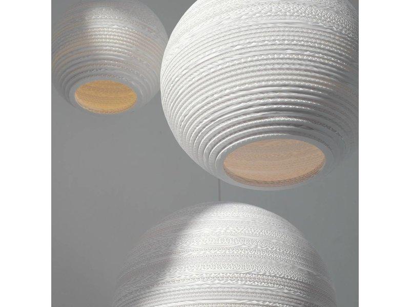 Graypants Moon10 hanglamp wit karton Ø26x22cm