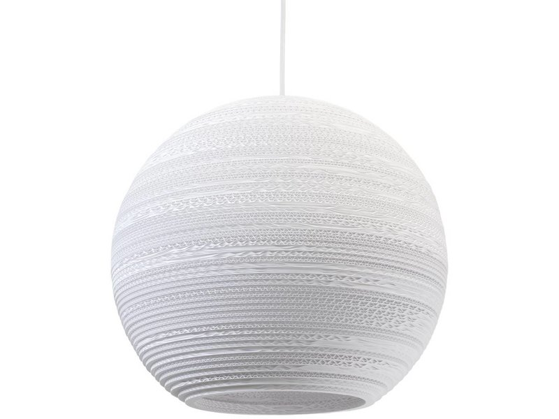 Graypants Moon18 lampe hvidt pap Ø45x40cm