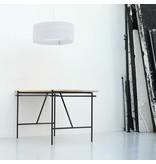 Graypants Drum18 lampe hvidt pap Ø45x21cm