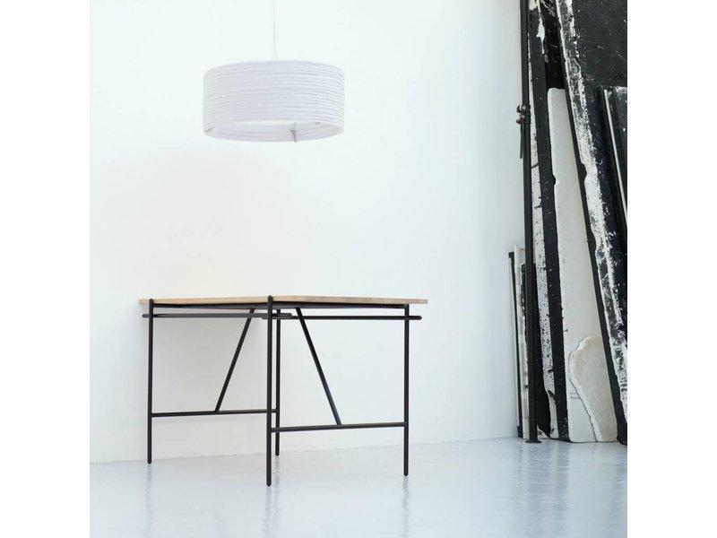 Graypants Drum18 hanglamp wit karton Ø45x21cm