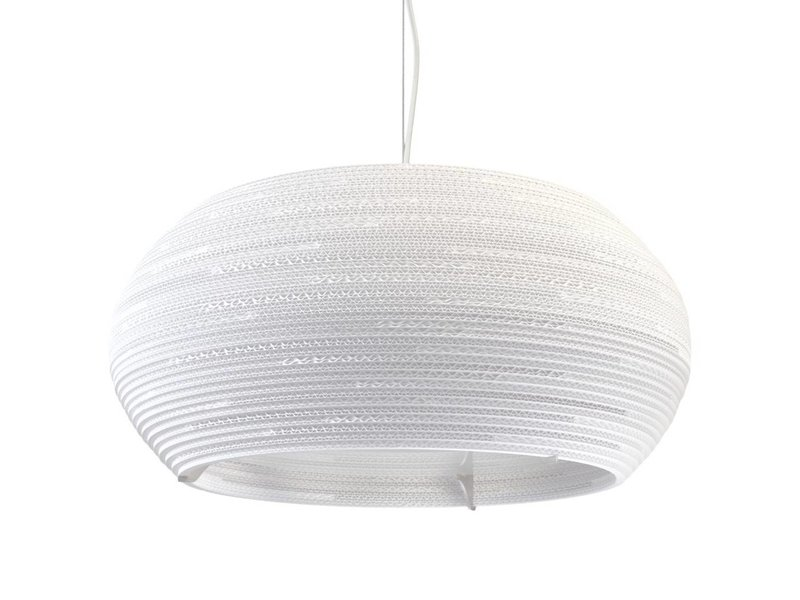 Graypants Ohio24 hanglamp wit karton Ø61x24cm