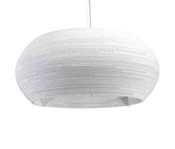 Graypants Lampe Ohio32 Ø82x33cm en carton blanc